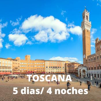 Estudiantes - Toscana 5 dias / 4 noches