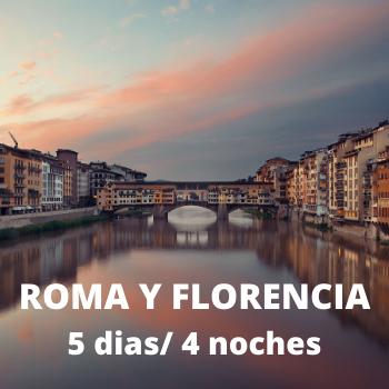 Estudiantes Roma y Florencia 5 dias / 4 noches