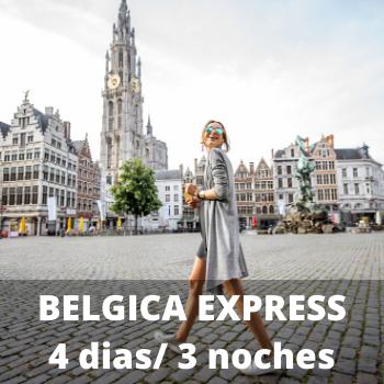 Estudiantes Belgica Express 4 dias / 3 noches
