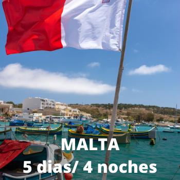 Estudiantes Malta 5 dias / 4 noches
