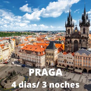 Estudiantes Praga 4 dias / 3 noches