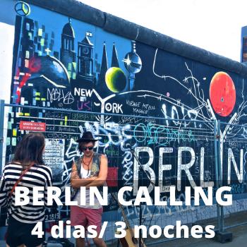 Estudiantes Berlin Calling 4 dias / 3 noches