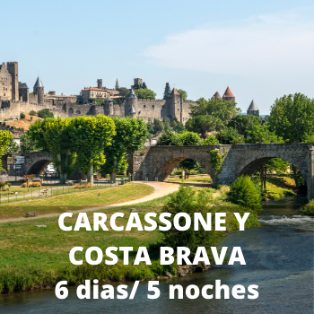 Estudiantes Carcassone y Costa Brava 6 dias / 5 noches