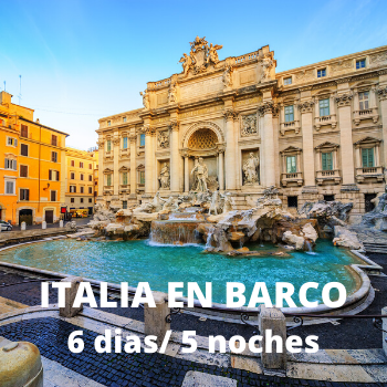 Estudiantes Italia en barco 6 dias / 5 noches