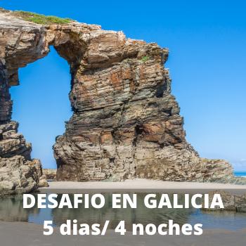 Estudiantes Desafio en Galicia 5 dias / 4 noches