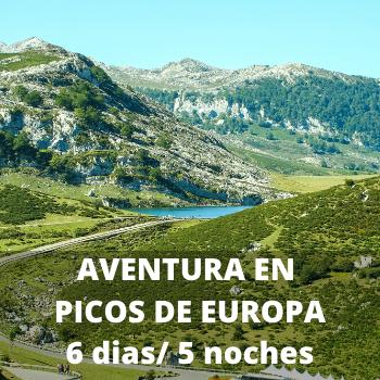 Estudiantes Aventura en Picos de Europa 6 dias / 5 noches