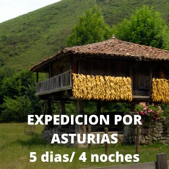 Estudiantes Expedicion por Asturias 5 dias / 4 noches