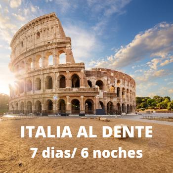 Estudiantes Italia al Dente 7 dias / 6 noches