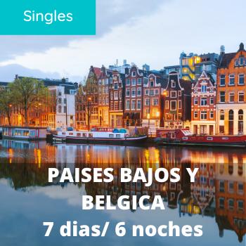 Singles Paises Bajos y Belgica 7 dias / 6 noches