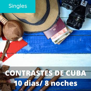 Singles Contrastes de Cuba 10 dias / 8 noches