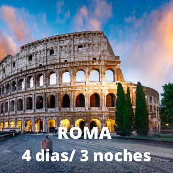 Estudiantes - Roma 4 dias / 3 noches